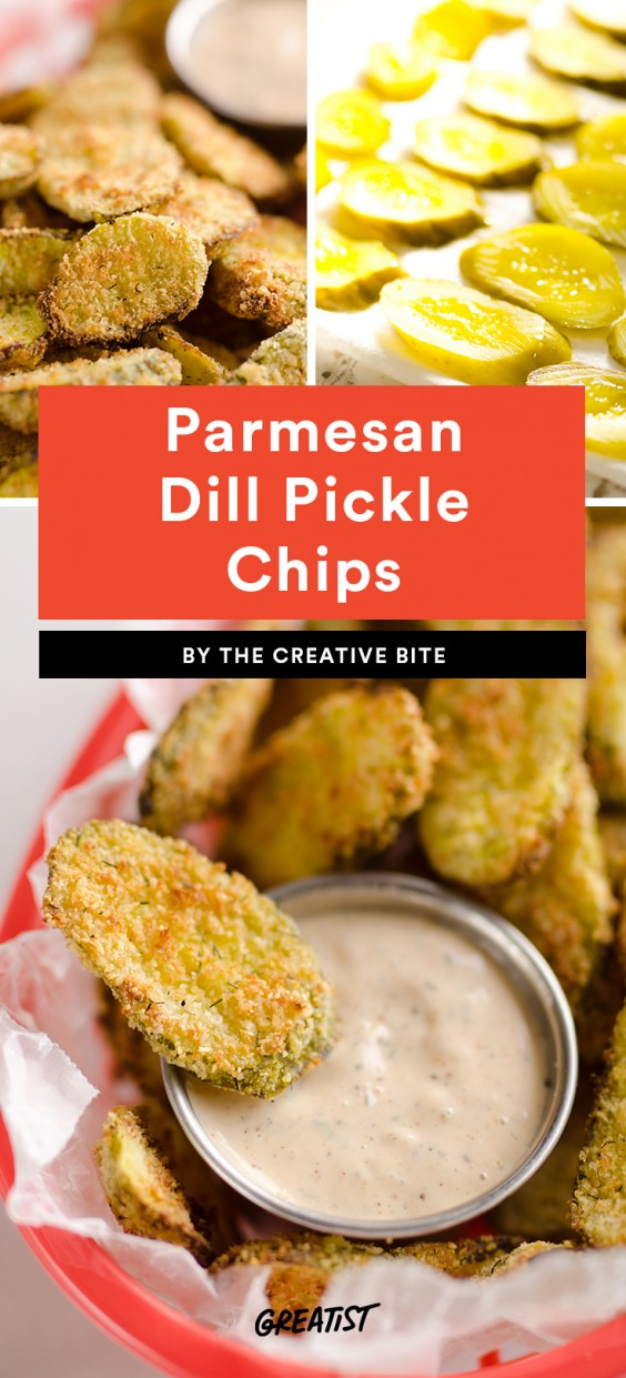 Parmesan Dill Pickle Chips