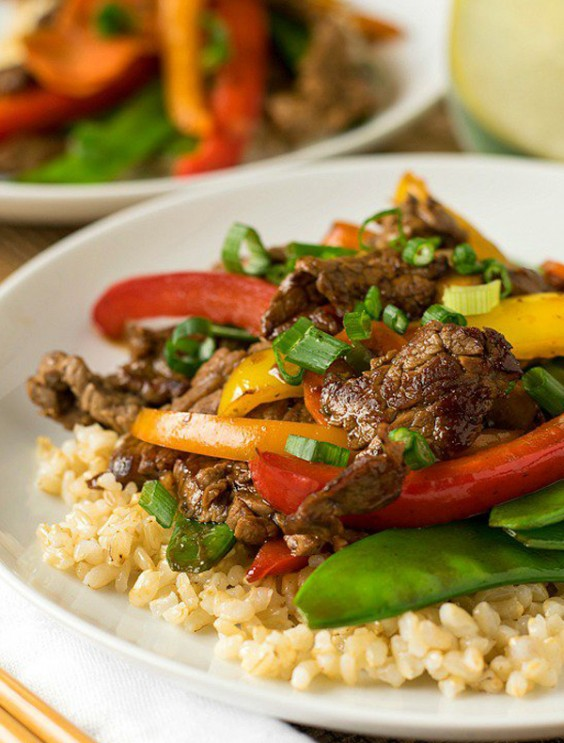 Pineapple Beef Stir-Fry for Two