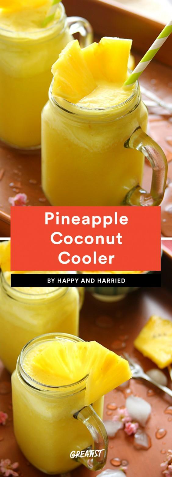 Pineapple Coconut Cooler