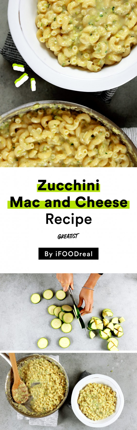 zucchini mac and cheese iFOODreal