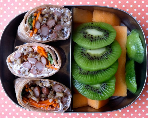 Bento box lunch ideas 25 healthy and photo worthy bento box 3 pinto bean wrap forumfinder Images