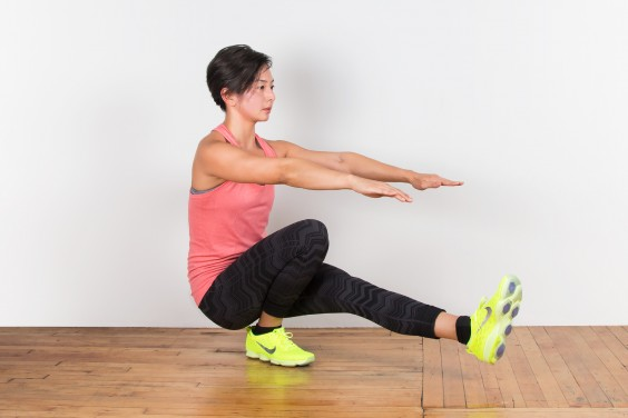 Bodyweight Exercise: Pistol Squat