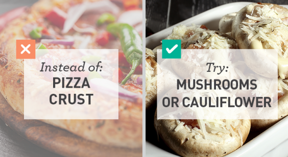 Low Carb: Mushrooms or Cauliflower for Pizza Crust