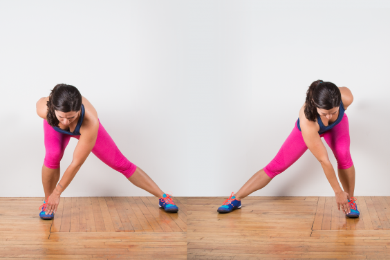 Alternating Lateral Lunge