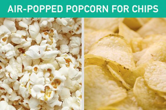 Popcorn for Chips