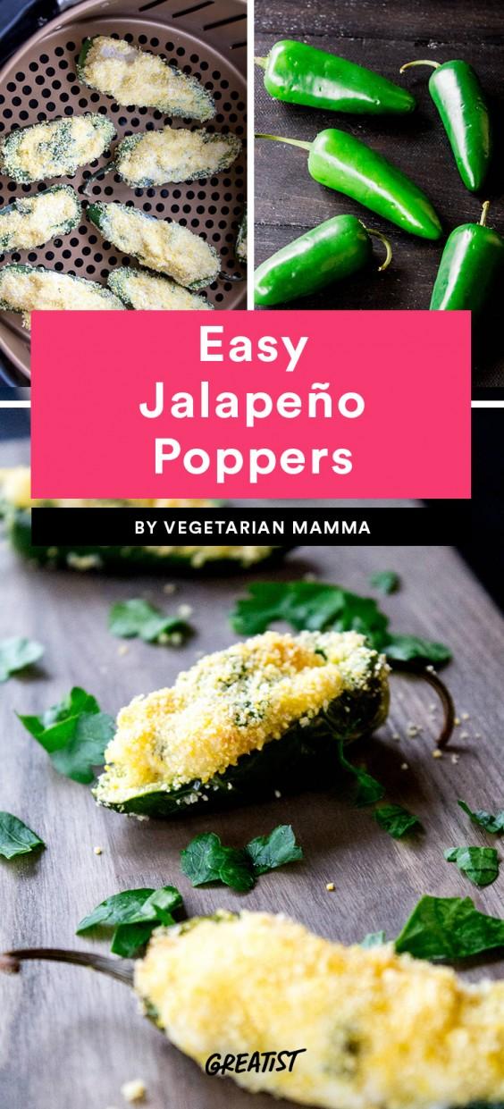Easy Jalapeño Poppers