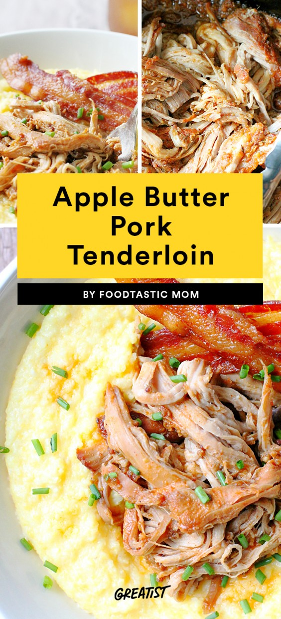Apple Butter Pork Tenderloin Recipe