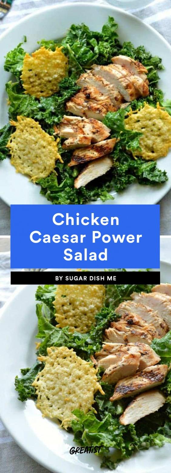 Chicken Caesar Power Salad