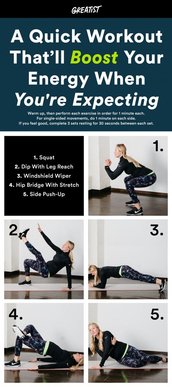 Prenatal Energy Boost Workout