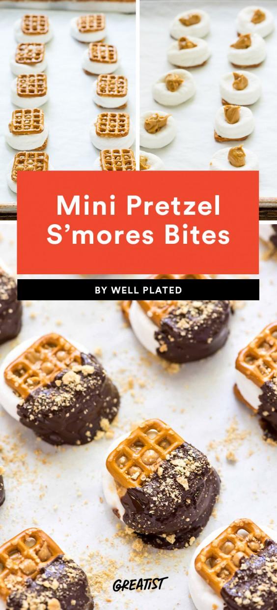 Pretzel S'mores Bites Recipe