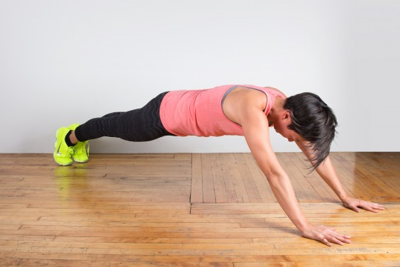 Bodyweight Exercise: Prone Walkout