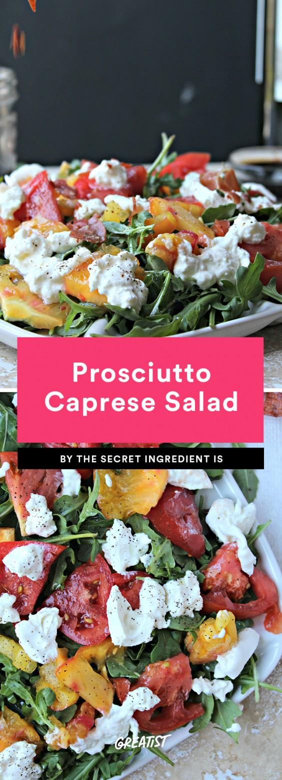 Prosciutto Caprese Salad