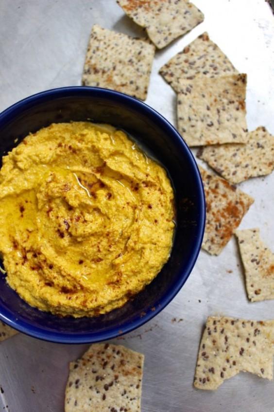 Paleo Snacks: Pumpkin Hummus