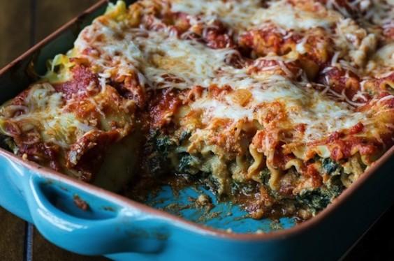 Pumpkin Kale Lasagna
