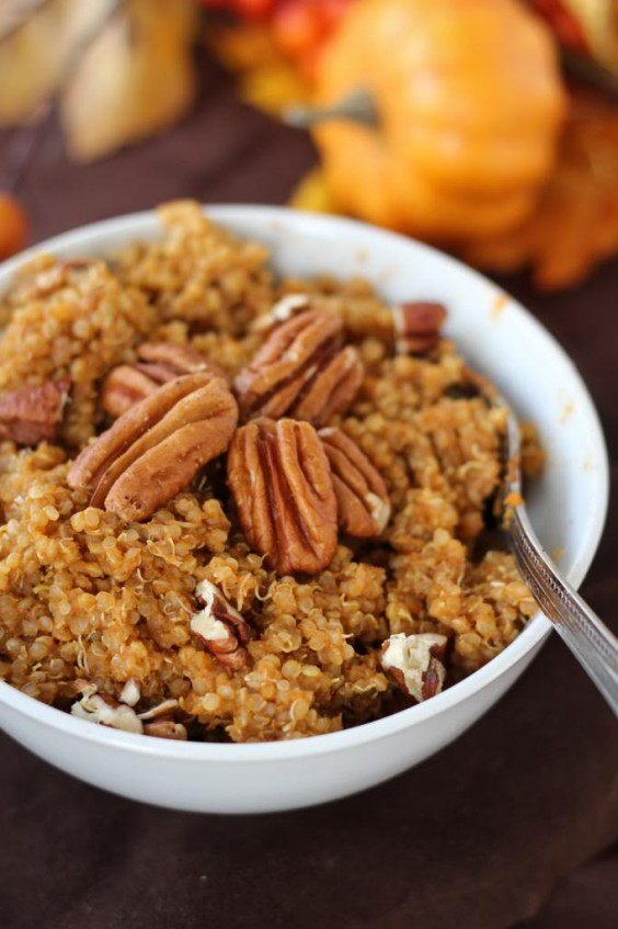 "Creamy Peaches And Coconut Quinoa ""Oatmeal"" Recipes — Dishmaps"