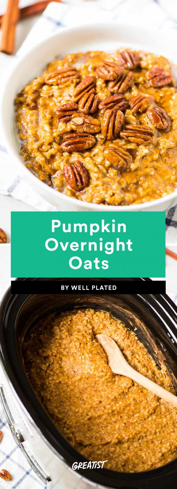 Pumpkin Overnight Oats Recipe