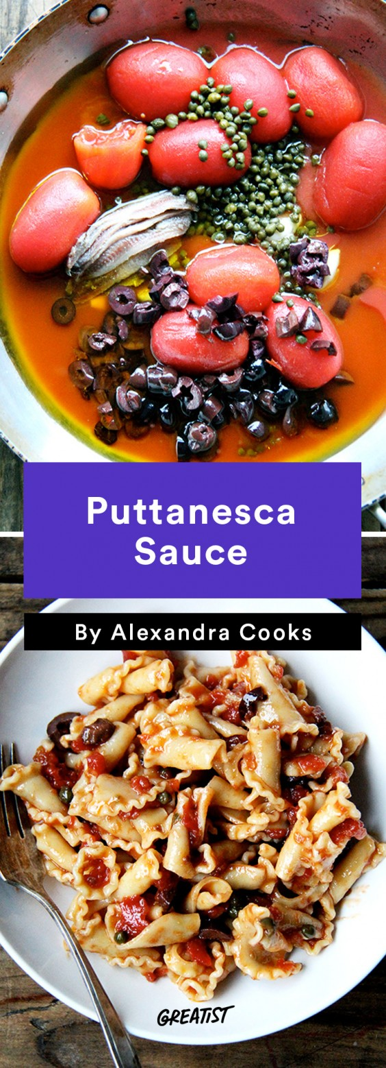 Puttanesca Sauce Recipe
