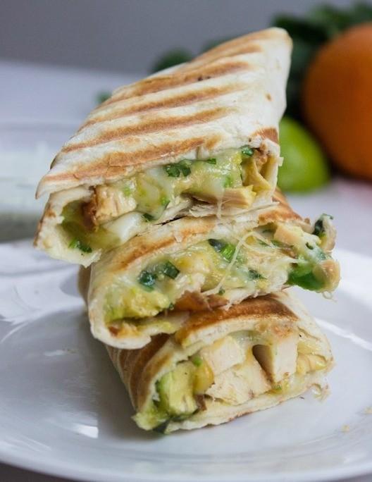 14. Quick & Easy Chicken Burrito
