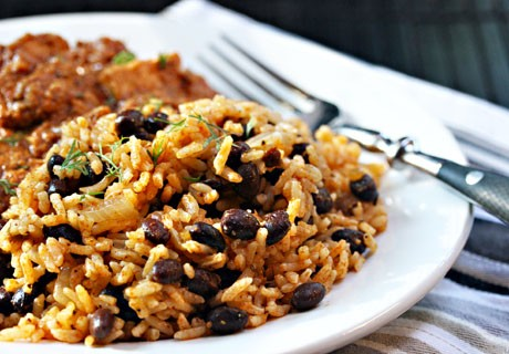 30. Quick and Easy Black Beans and Rice