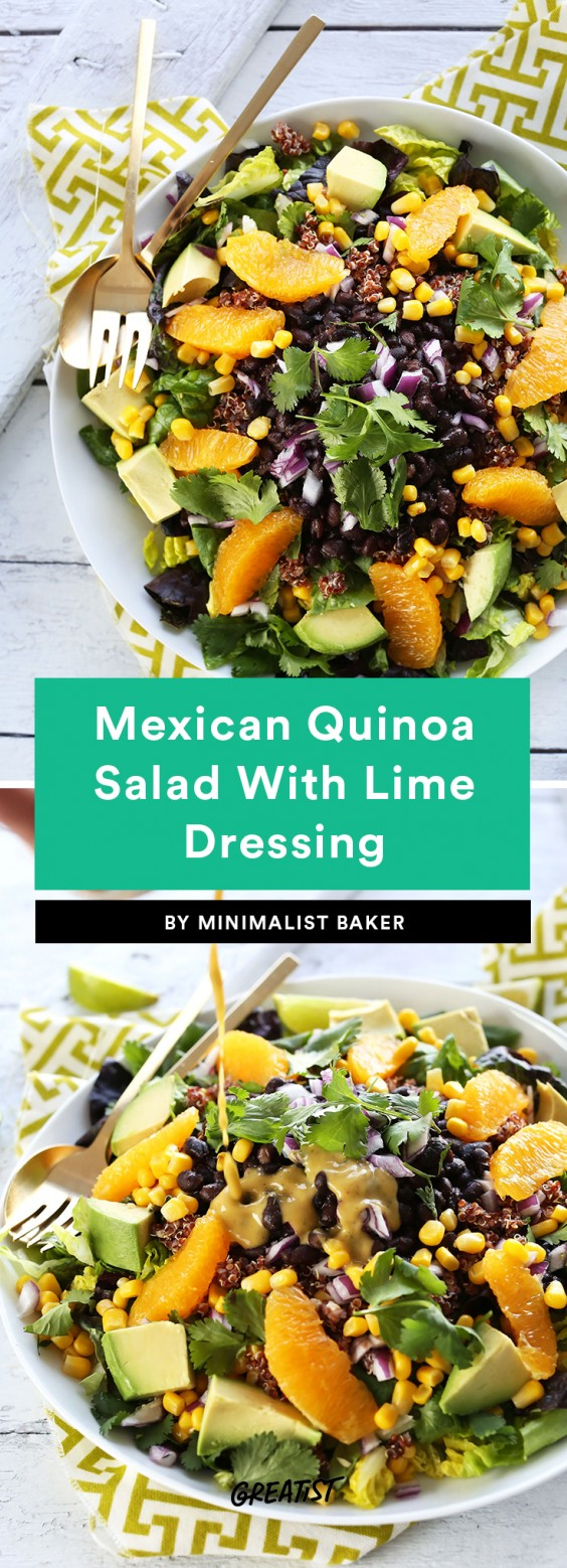 Mexican Quinoa Salad With Lime Dressing Recipe