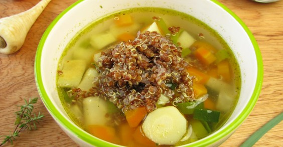 Quinoa and Vegetable Soup | Greatist