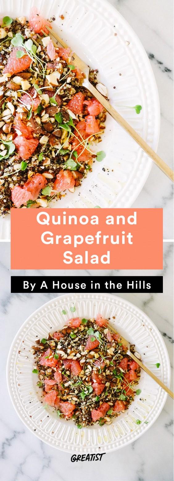 Brunch Recipes: Quinoa and Grapefruit Salad