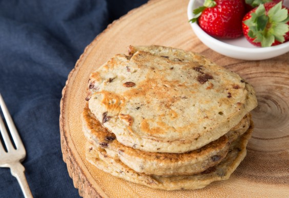 Almond Joy Paleo Pancakes