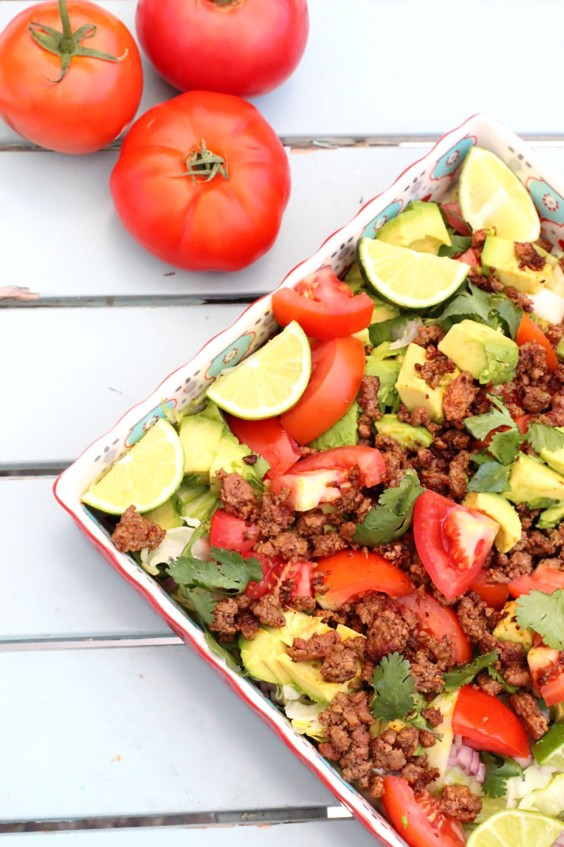 Whole30 dinner recipes 21 easy and delicious meals greatist 11 taco salad forumfinder Gallery