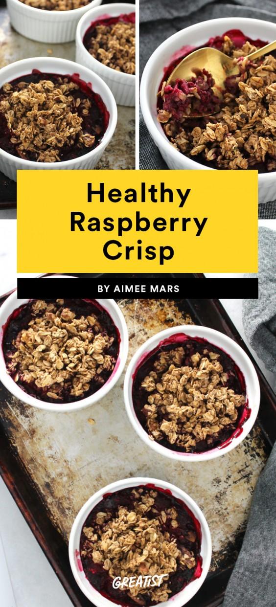 Healthy Raspberry Crisp Recipe