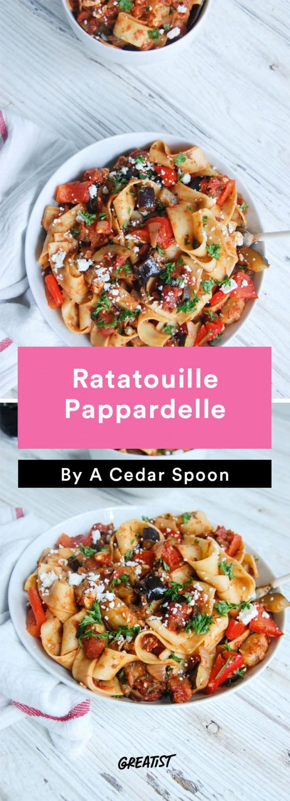 Ratatouille Pappardelle Recipe