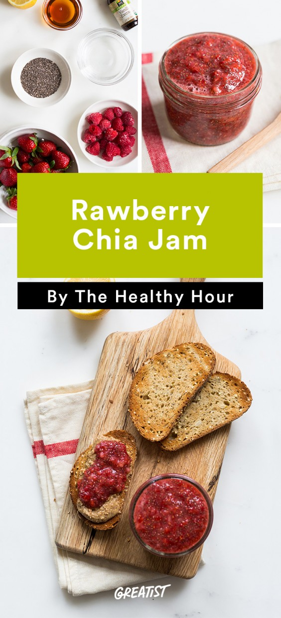 the healthy hour: Chia Jam