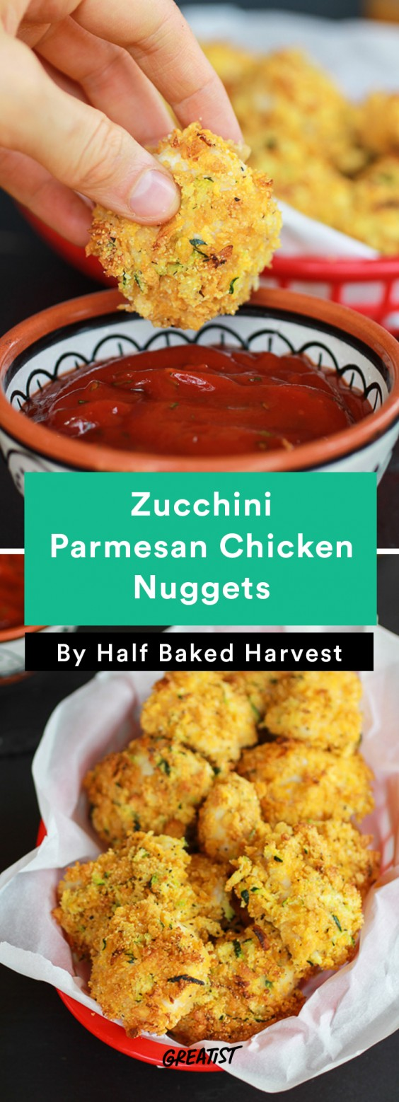 Comfort food recipes that are actually healthy greatist 7 zucchini parmesan chicken nuggets forumfinder Images