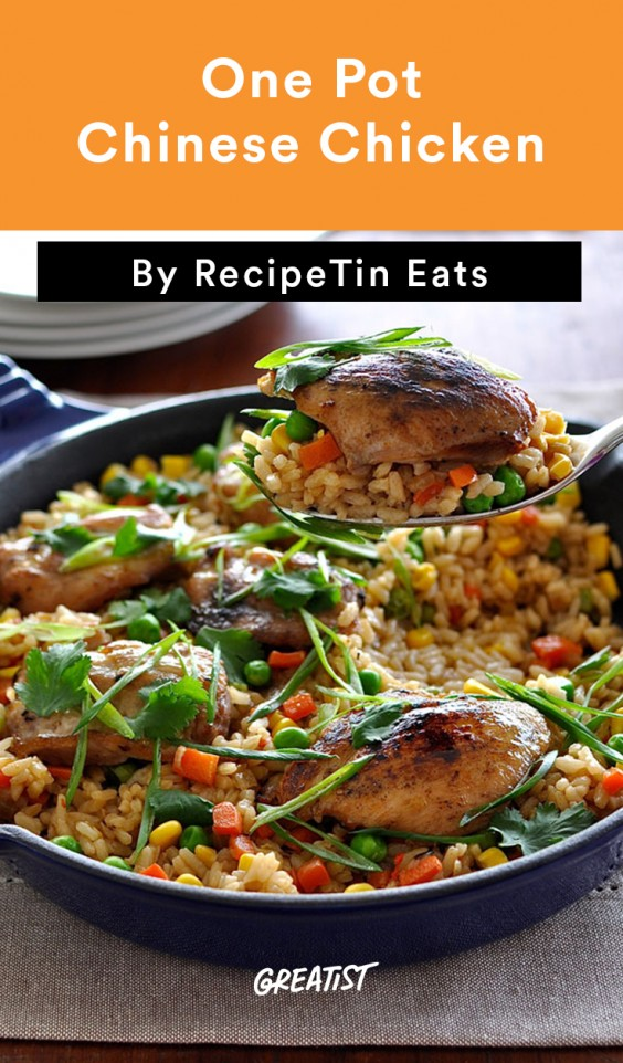 One Pot Chinese Chicken 'Fried Rice'