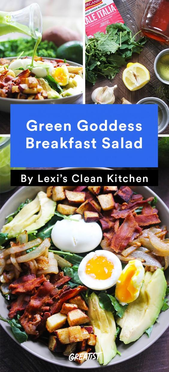 Green Goddess Breakfast Salad
