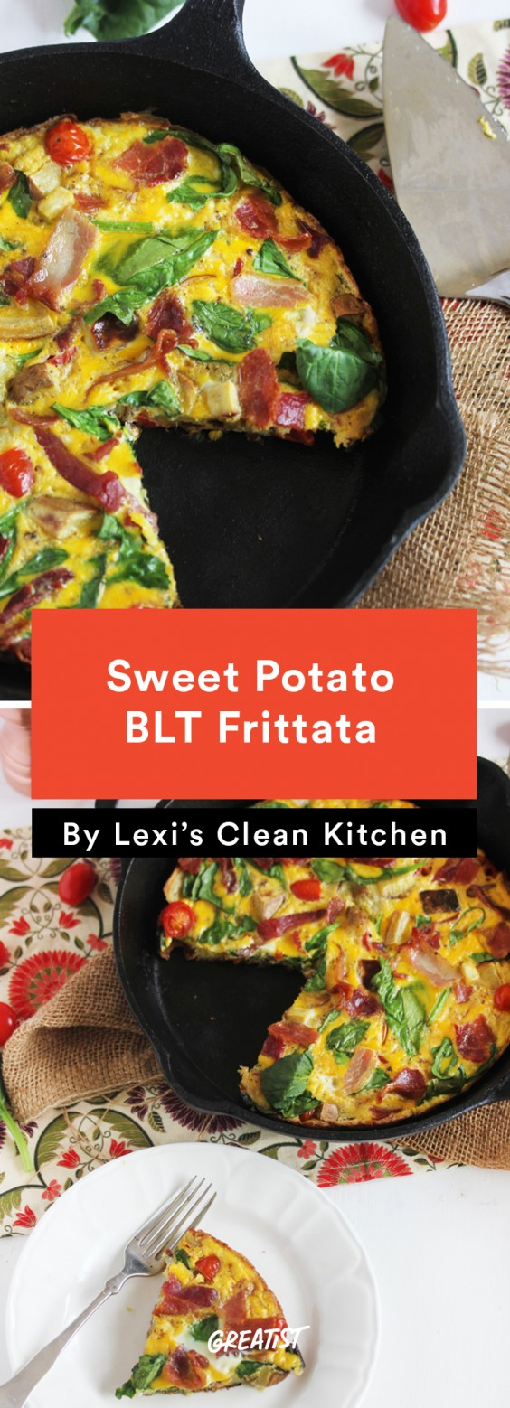 Sweet Potato BLT Frittata