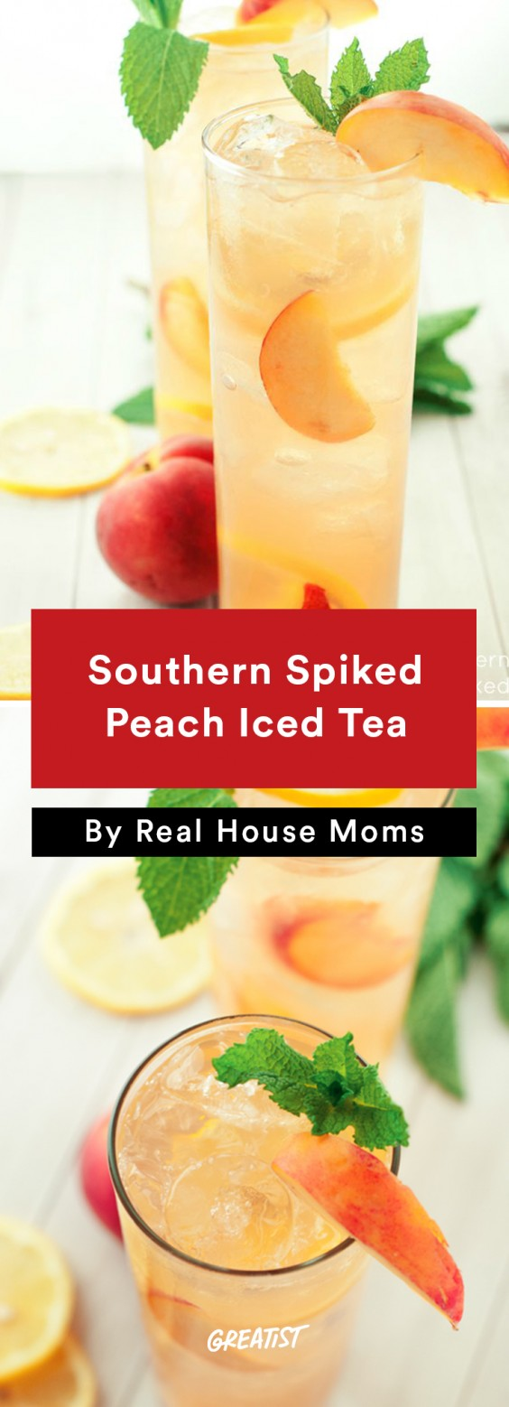 Southern Spiked Peach Iced Tea