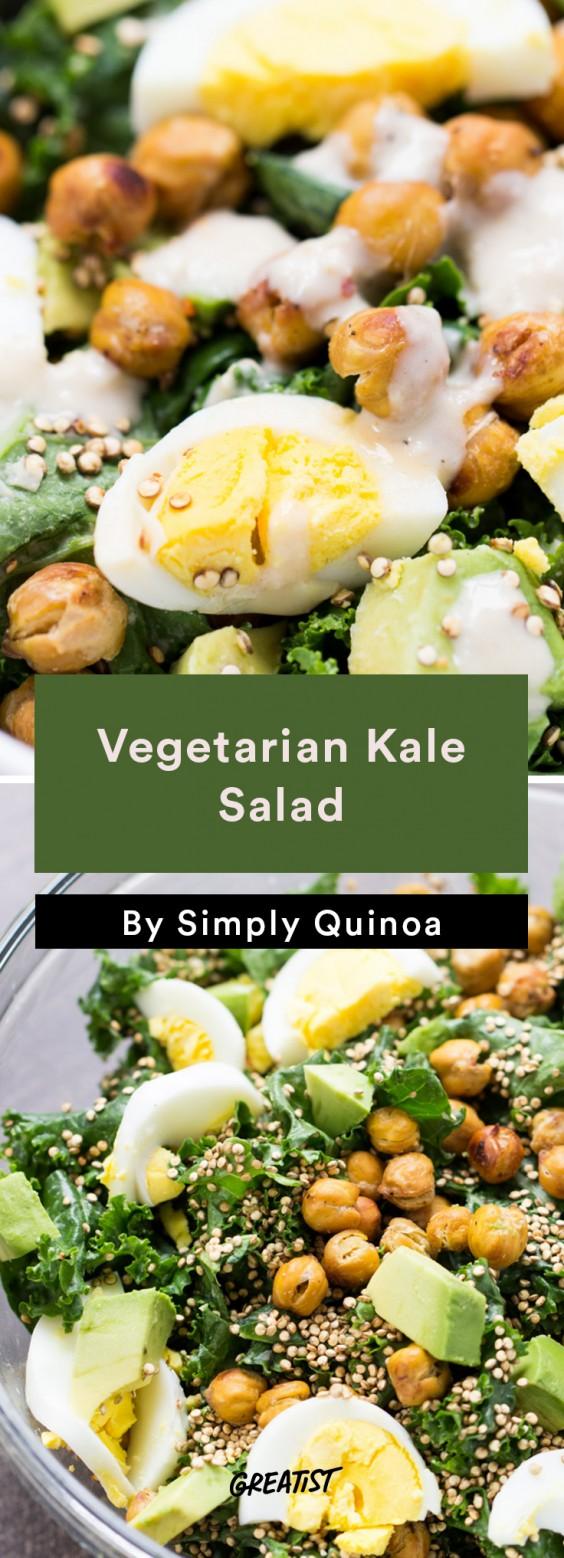 Vegetarian Kale Salad
