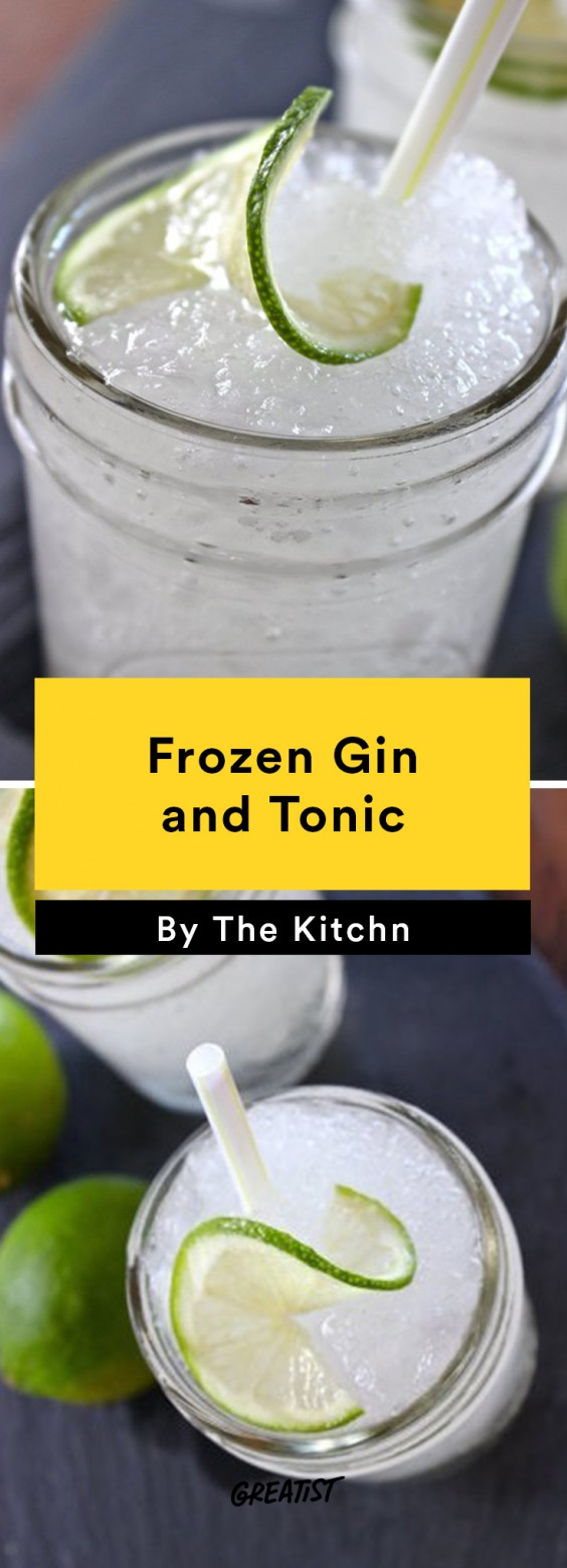 Frozen Gin and Tonic