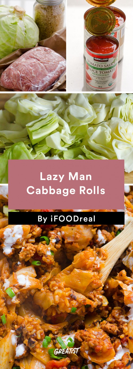 Lazy Man Cabbage Rolls