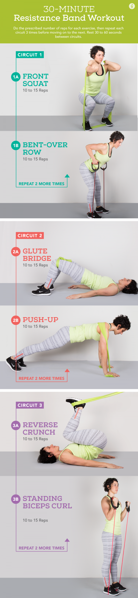 30 Minute Resistance Band Workout