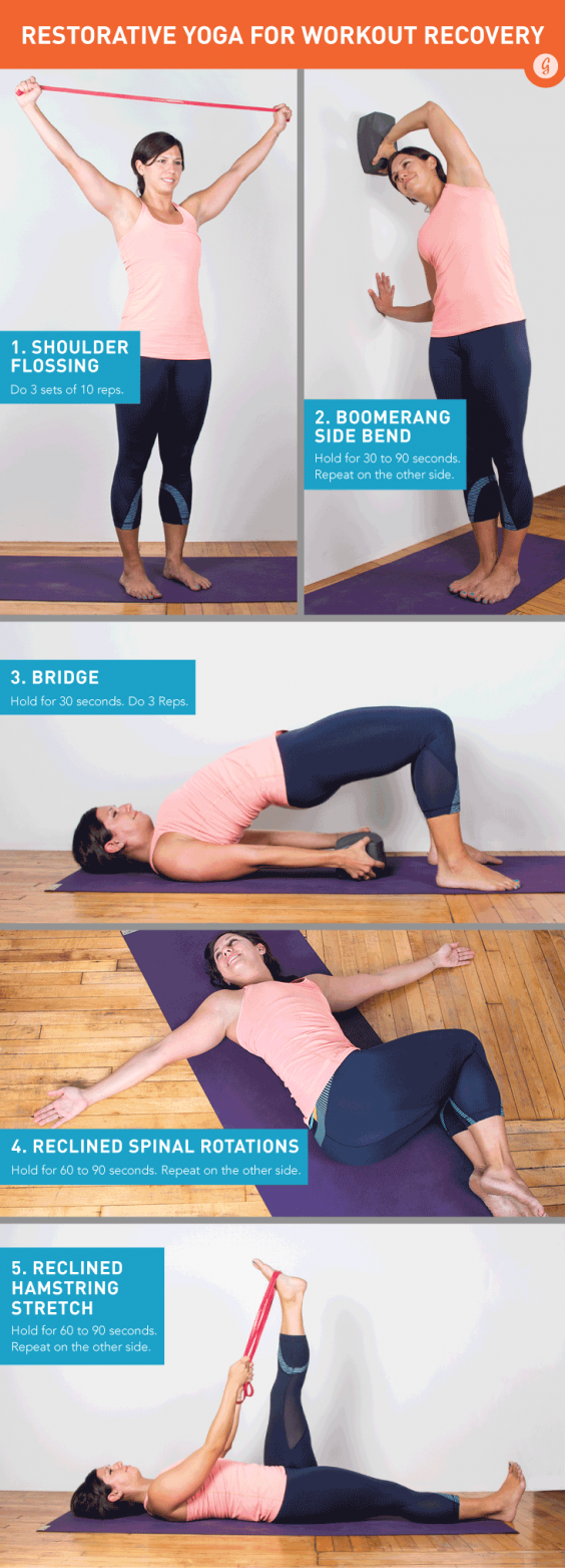 Stretch and recover with these quick moves.