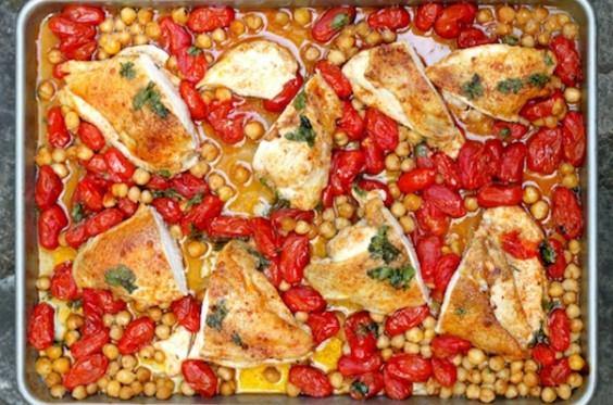 Roast Tomato Chicken