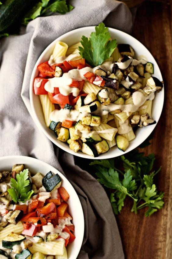 Tahini Uses: Roasted Garlic Tahini Sauce