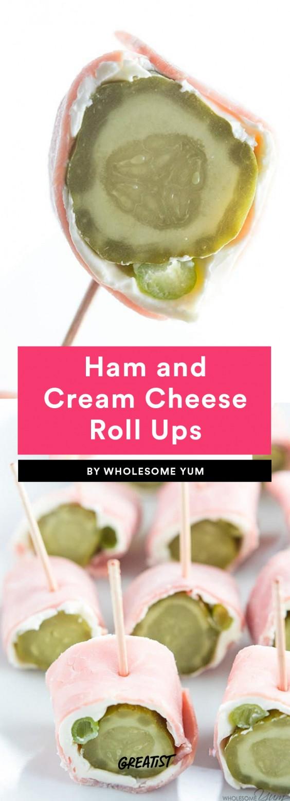 Ham and Cream Cheese Roll Ups