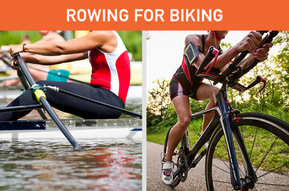Simple Swaps to Change Your Life: Rowing for Biking