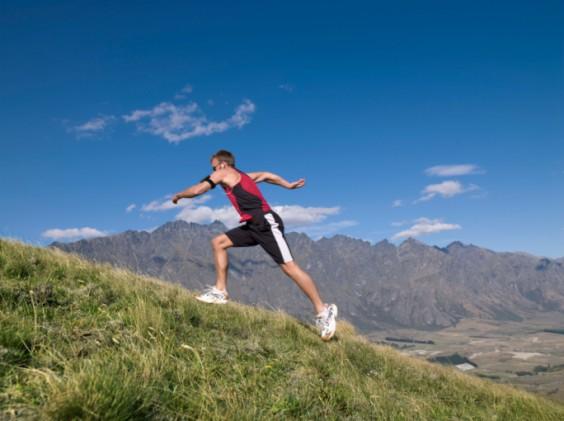 18 Ways to Change Up Your Running Routine: Run Uphill