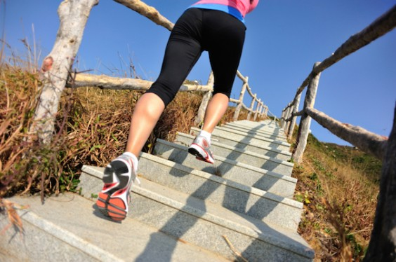 18 Ways to Change Up Your Running Routine: Stairs