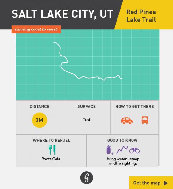 Greatist Running Routes Coast to Coast: Salt Lake City, UT