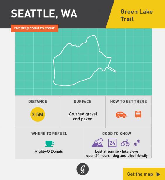 Greatist Running Routes Coast to Coast: Seattle, WA