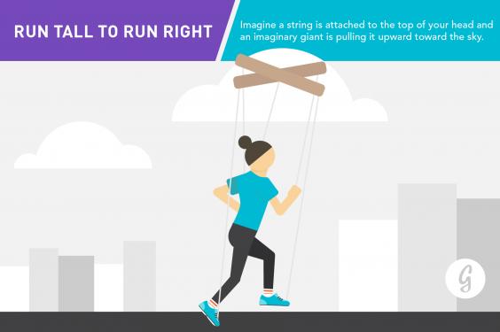 Running Form Run Tall to Run Right